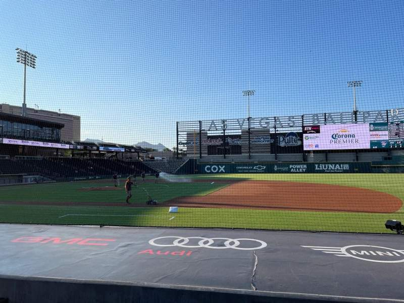 Seating view for Las Vegas Ballpark Section 106 Row H Seat 6