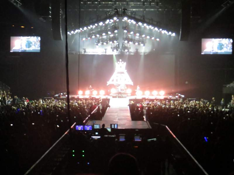 Barclays Center, section: 16, row: 12, seat: 10