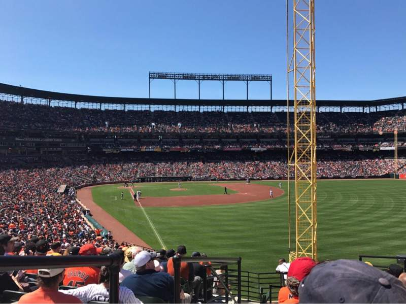 Seating view for Oriole Park at Camden Yards Section 1 Row 11 Seat 9