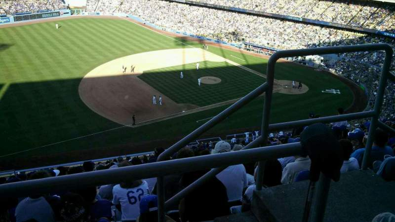 Seating view for Dodger Stadium Section 29RS Row BB Seat 3