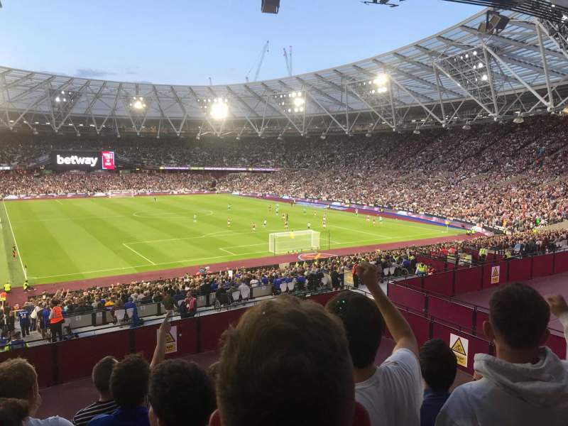 Seating view for London Stadium Section 218 Row 37 Seat 104