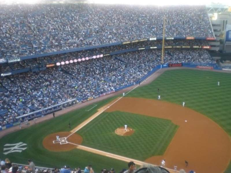 Seating view for Old Yankee Stadium Section Tier 15 Row U Seat 2