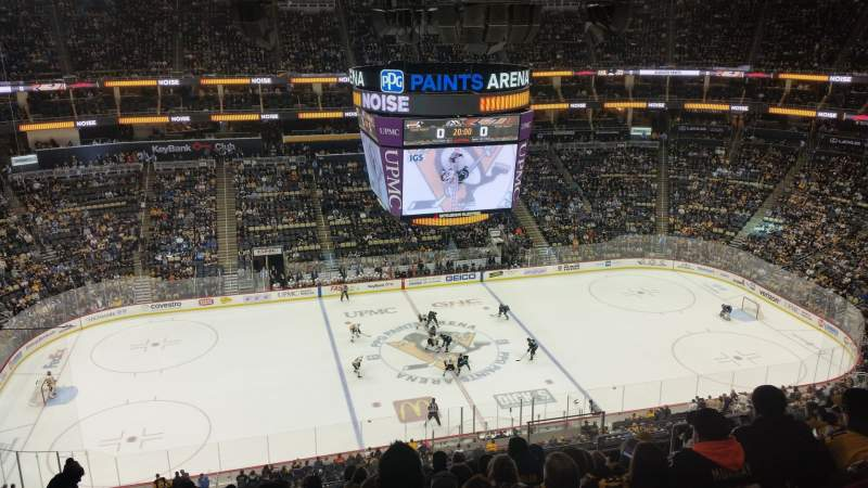 Seating view for PPG Paints Arena Section 221 Row L Seat 7