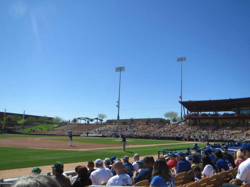 Seating view for Camelback Ranch Section 26 Row 6 Seat 2