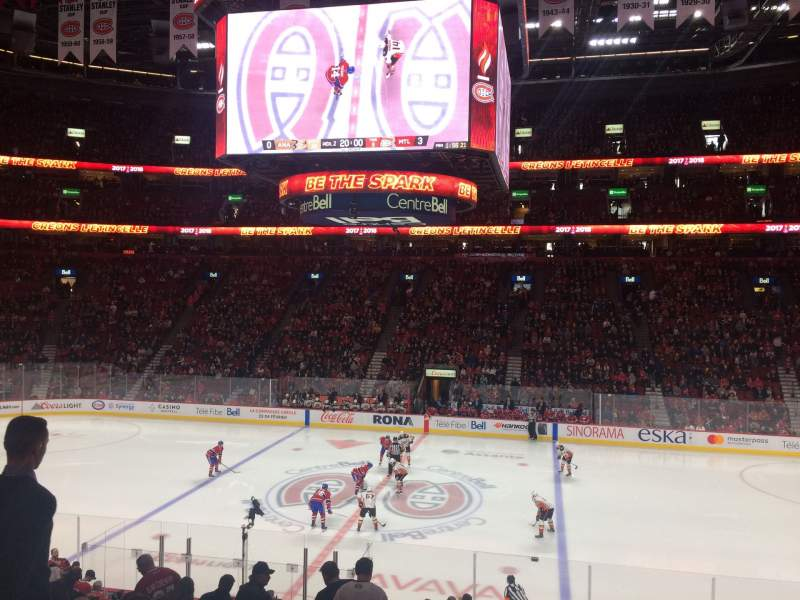 Seating view for Centre Bell Section 112 Row O Seat 9