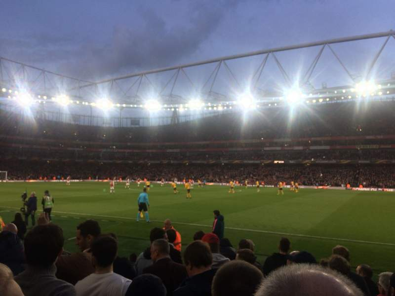 Seating view for Emirates Stadium Section 31 Row 8 Seat 964