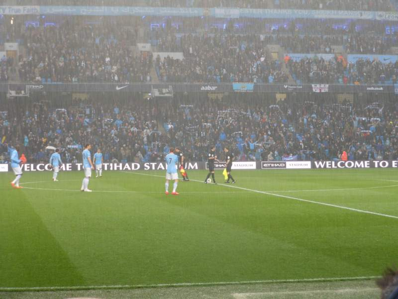 Seating view for Etihad Stadium (Manchester) Section 127 Row E Seat 743