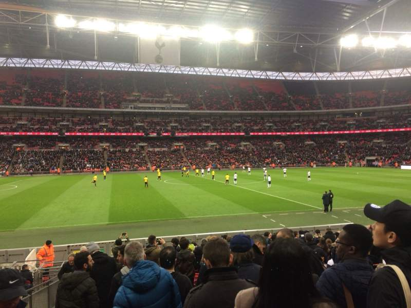 Seating view for Wembley Stadium Section 102 Row 18 Seat 67