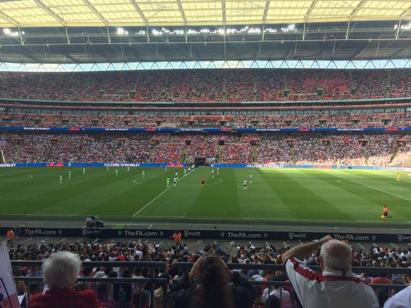 Seating view for Wembley Stadium Section 122 Row 31 Seat 299