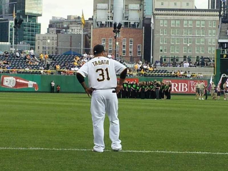 Seating view for PNC Park Section 27 Row D Seat 12