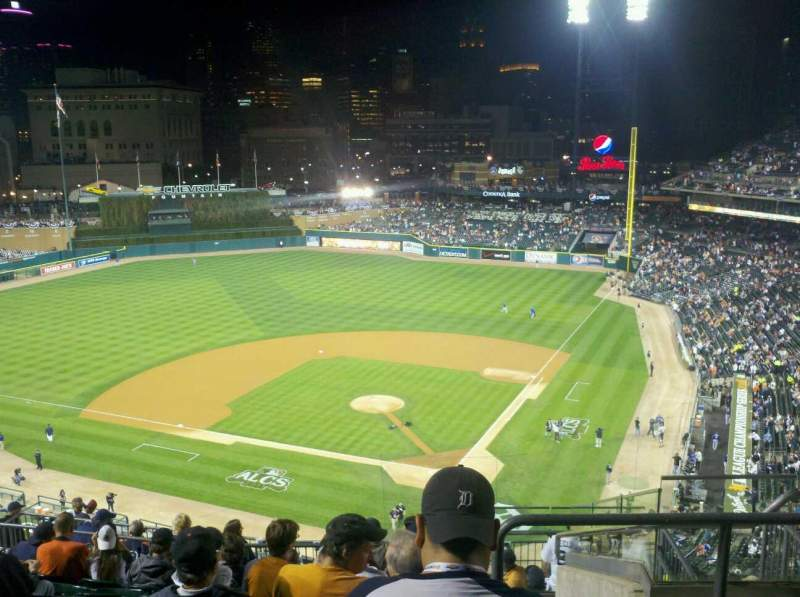 Seating view for Comerica Park Section 330 Row 9 Seat 5