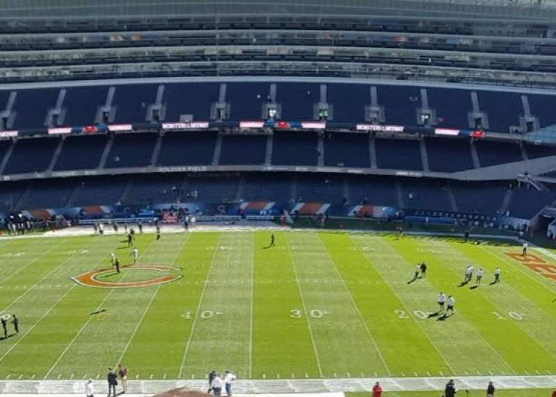 Seating view for Soldier Field Section 335 Row 2