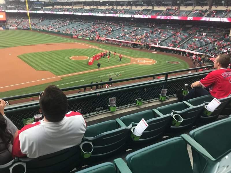 Angel Stadium, section: C316, row: C, seat: 1
