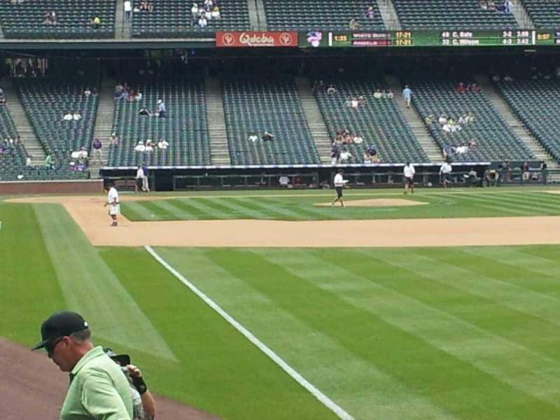 Seating view for Coors Field Section 111 Row 14 Seat 5
