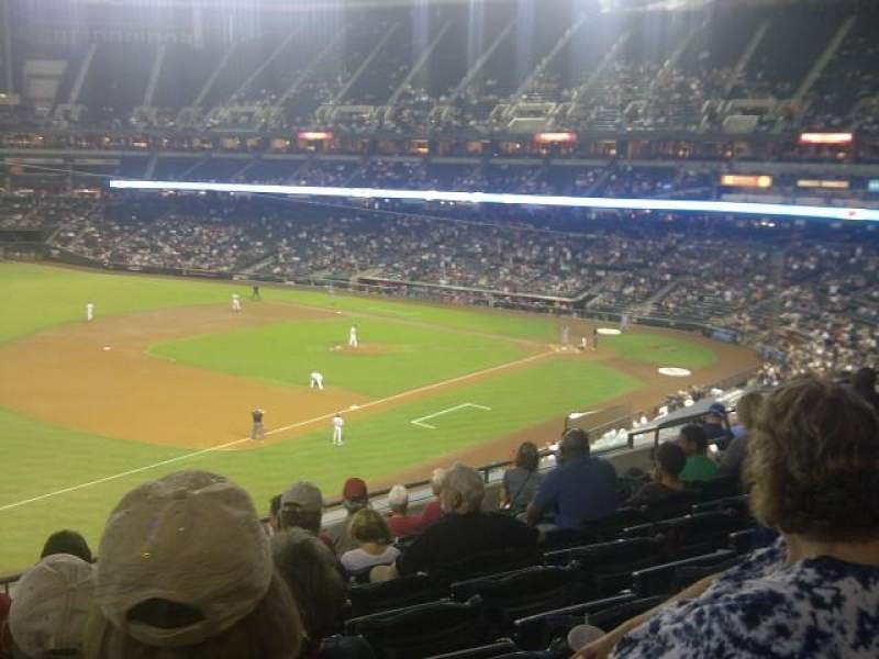 Seating view for Chase Field Section 216 Row 8 Seat 16