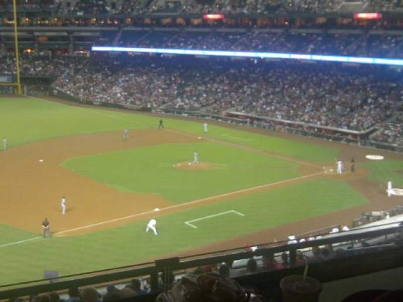 Seating view for Chase Field Section Audi Club