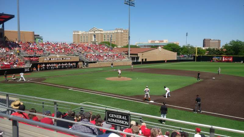 Seating view for Dan Law Field Section General Admission Row 3