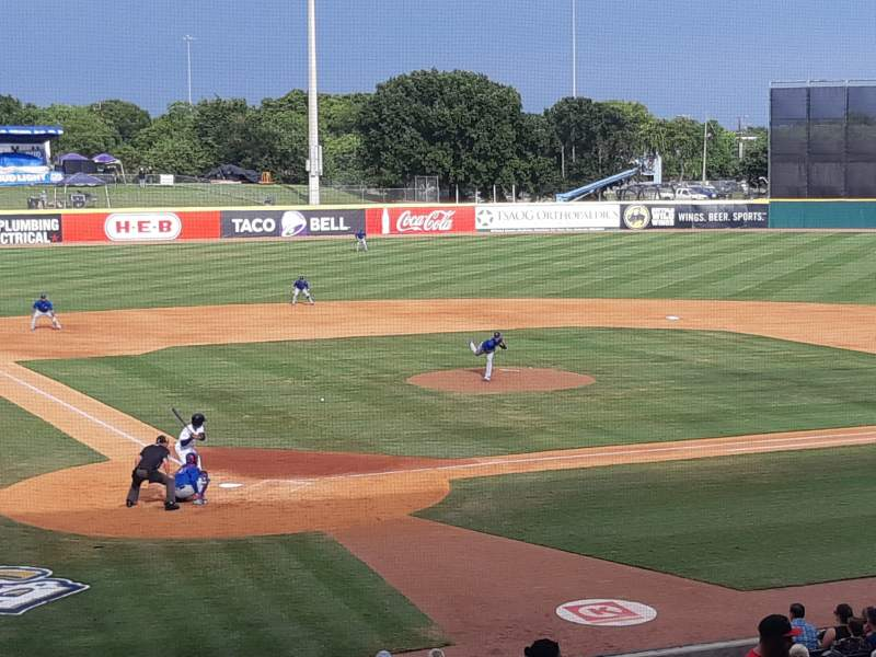 Seating view for Nelson W. Wolff Municipal Stadium Section 203 Row V Seat 4