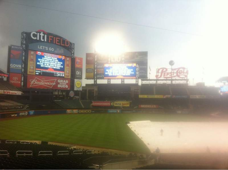 Seating view for Citi Field Section 125 Row 23 Seat 7