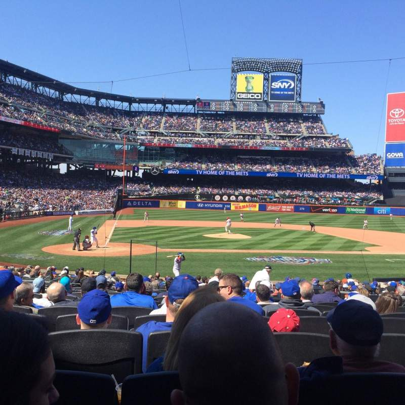 Seating view for Citi Field Section 12 Row 20 Seat 12