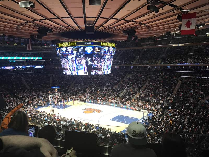 Seating view for Madison Square Garden Section 227 Row 3 Seat 8