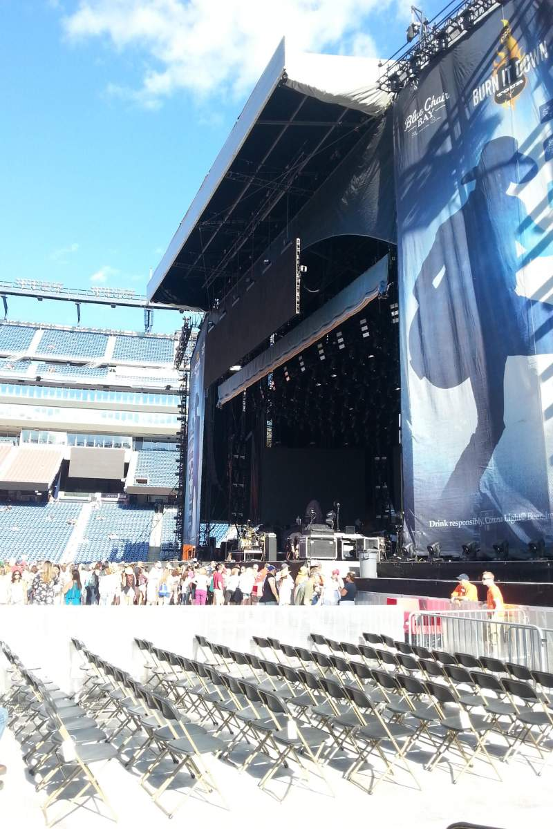 Gillette Stadium, section: A1, row: 11, seat: 13