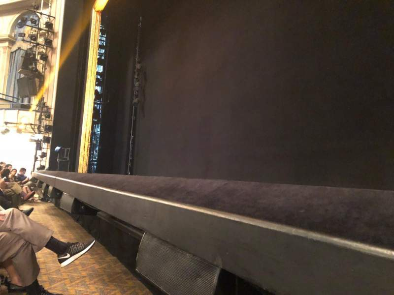 Ambassador Theatre, section: Orch Right, row: CC, seat: 6