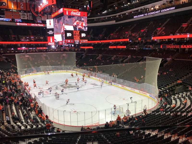 Seating view for Wells Fargo Center Section Suite 27 Row 1 Seat 1