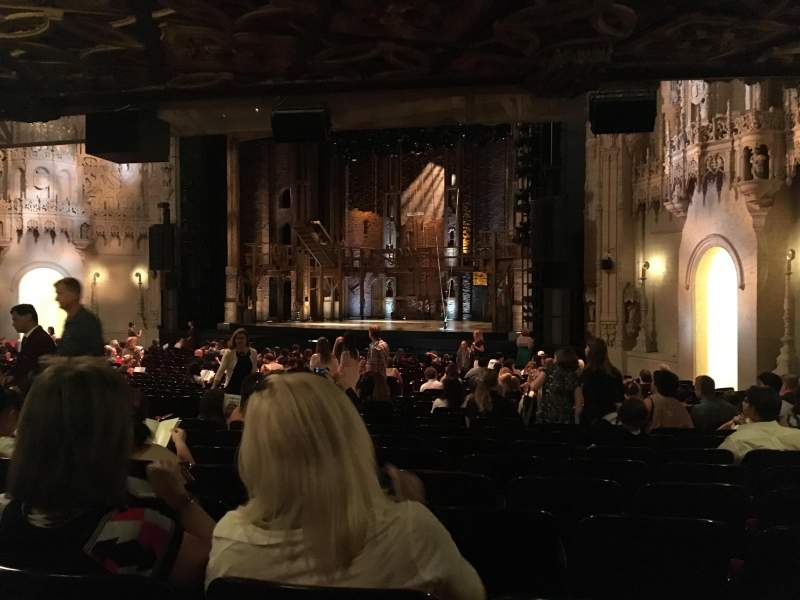 Seating view for Orpheum Theatre (San Francisco) Section Orchestra R Row AA Seat 20
