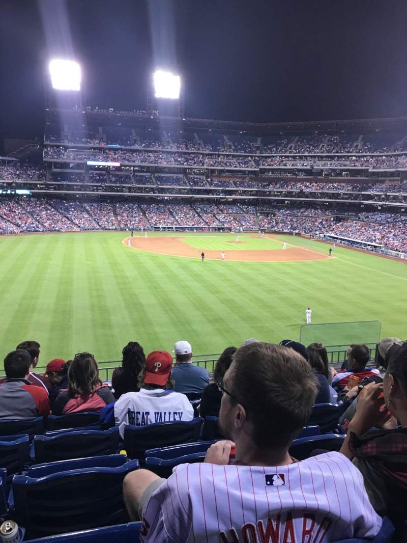 Seating view for Citizens Bank Park Section 245 Row 7  Seat 6
