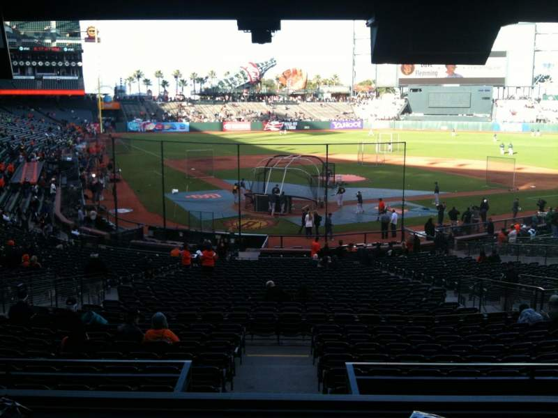 Seating view for AT&T Park Section Suite Row Champions  Seat 1