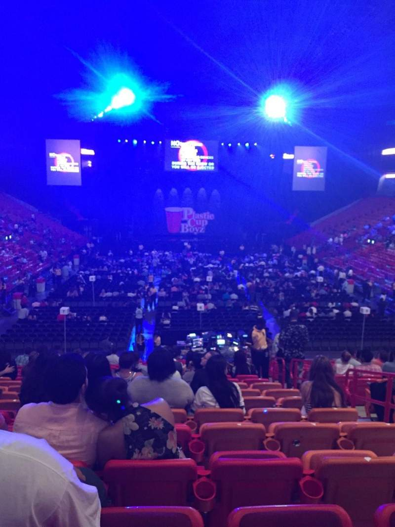 American Airlines Arena, section: 113, row: 28, seat: 4