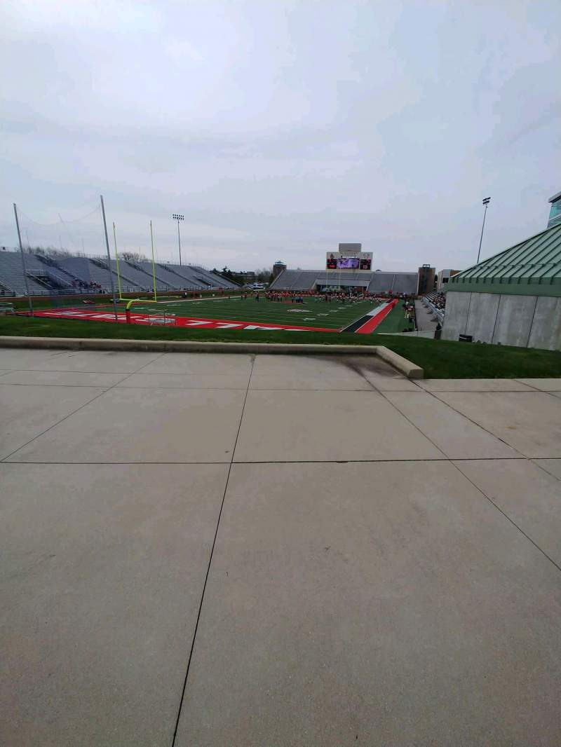 Seating view for Scheumann Stadium