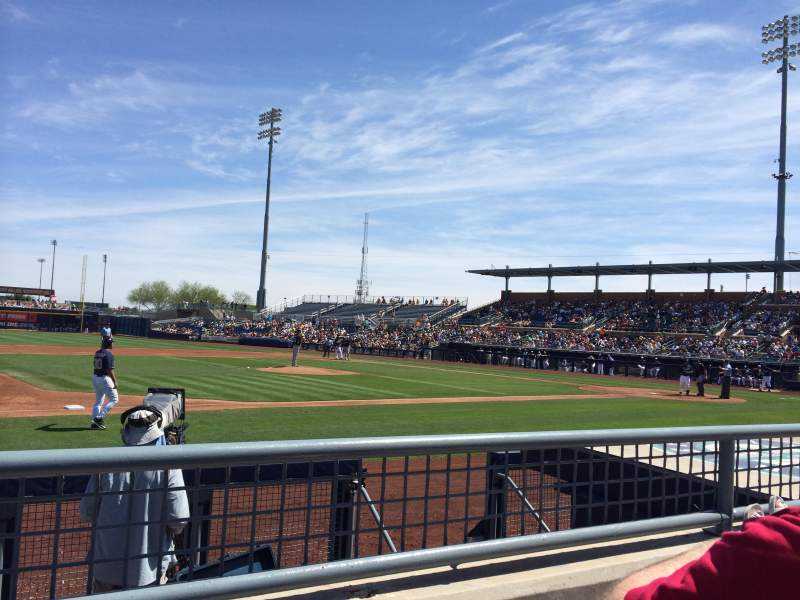 Seating view for Peoria Sports Complex Section 113 Row H Seat 12