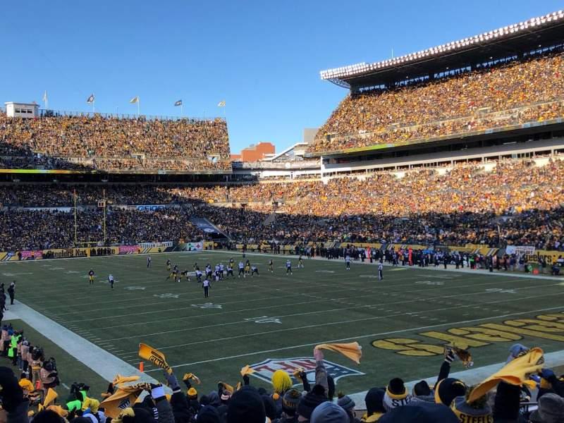 Heinz Field, section: 144, row: U, seat: 8