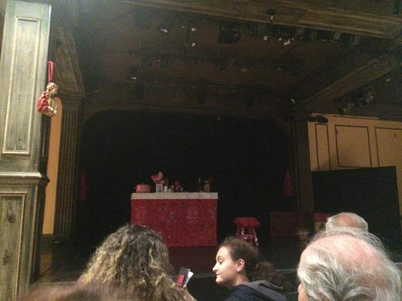 Seating view for Teatro La Comedia Section Main Row 3 Seat 5