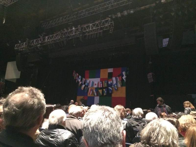 Seating view for Luna Park (Buenos Aires) Section Platea Row 17 Seat 2
