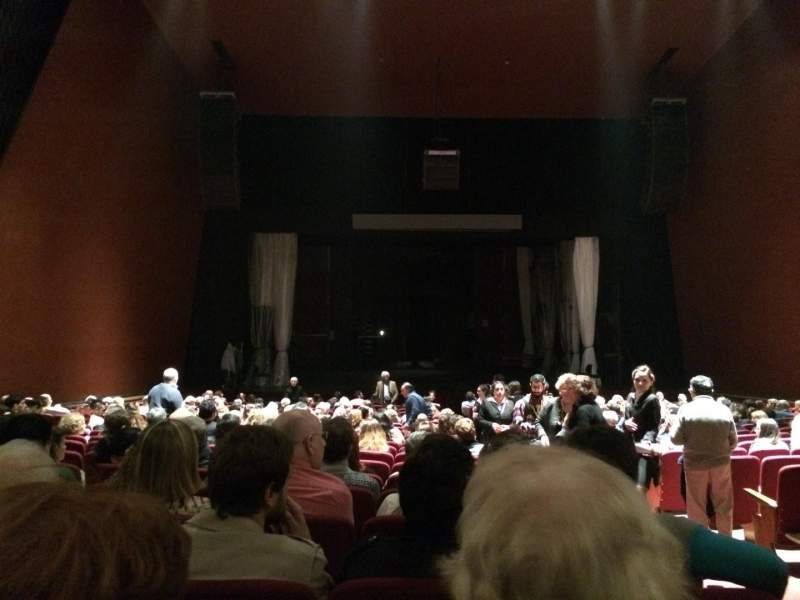 Seating view for Teatro Coliseo Section Platea Row 20 Seat 3