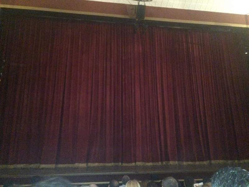 Seating view for Teatro El Nacional Section Main Row 7 Seat 9