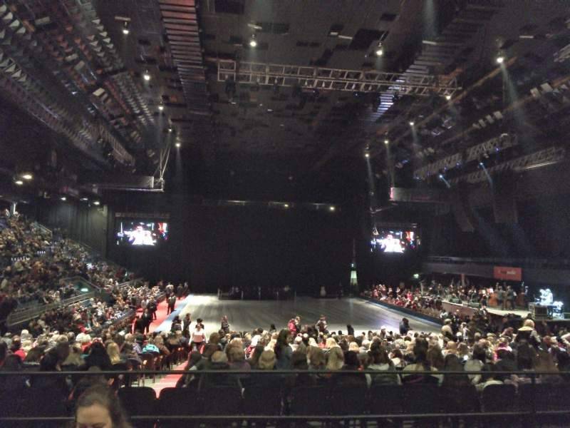 Seating view for Luna Park (Buenos Aires) Section Platea 2 Row 3 Seat 52