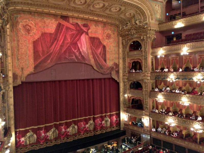 Seating view for Teatro Colón Section Cazuela Lateral Row 1 Seat 39