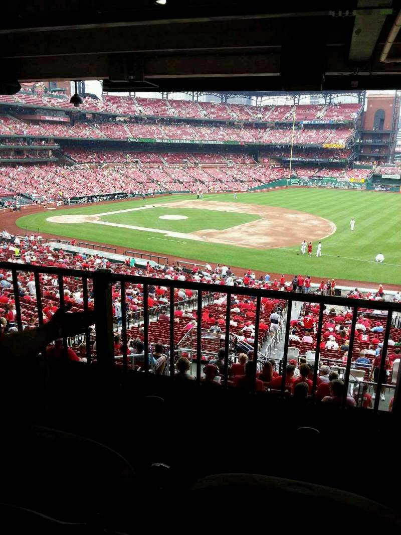 Seating view for Busch Stadium Section VIP