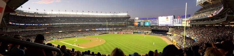 Seating view for Yankee Stadium Section 211 Row 19 Seat 19