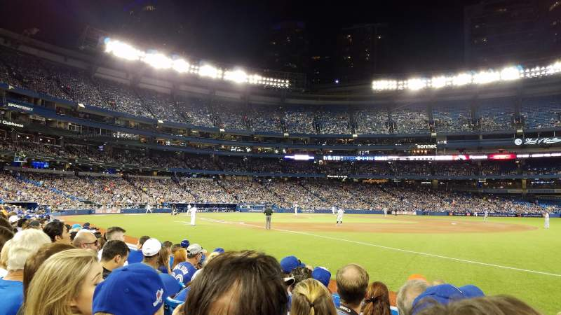 Seating view for Rogers Centre Section 113BL Row 6 Seat 105