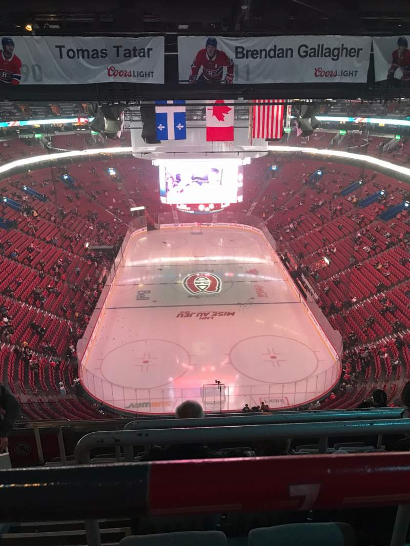 Seating view for Centre Bell Section 310 Row A Seat 10