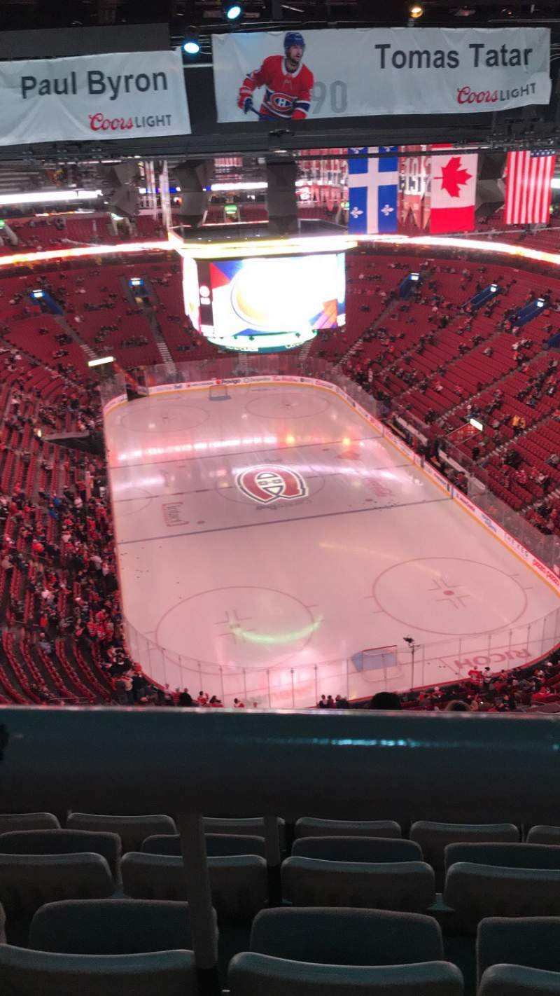 Seating view for Centre Bell Section 311 Row A Seat 13