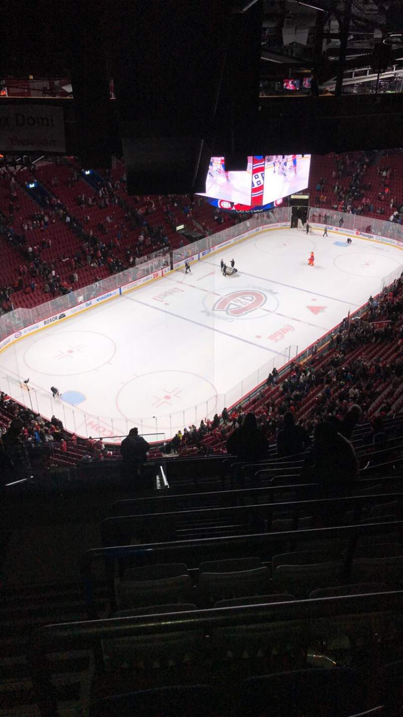 Seating view for Centre Bell Section 406 Row C Seat 15