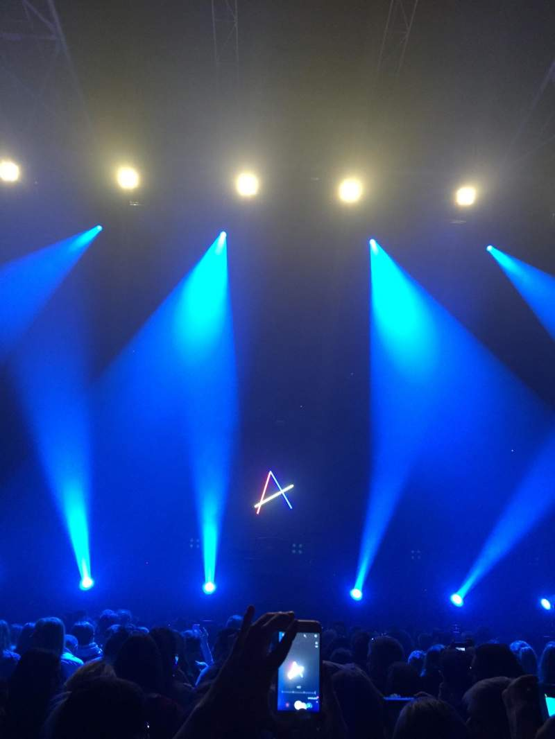 Seating view for Zénith de Paris - La Villette Section A Seat 248