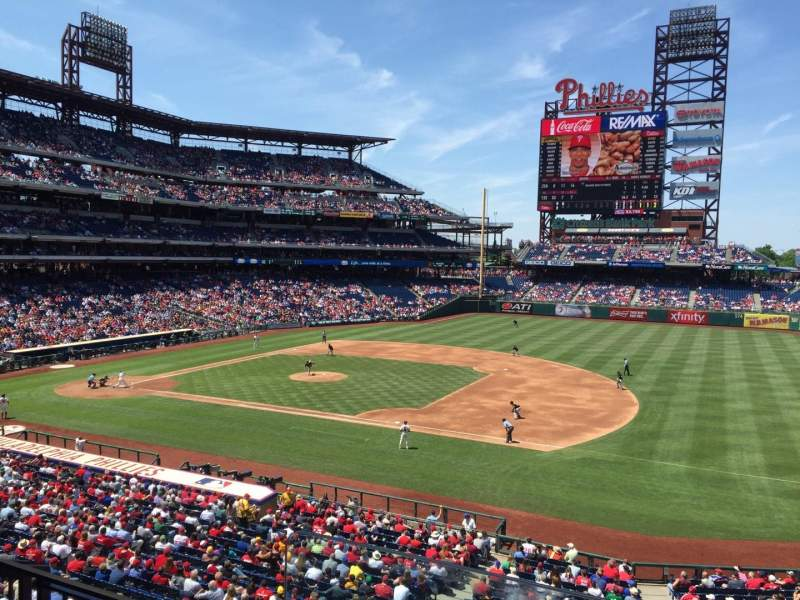 Seating view for Citizens Bank Park Section Suite 53