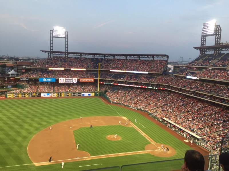 Seating view for Citizens Bank Park Section 427 Row 4 Seat 6